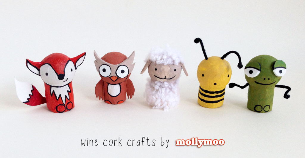 Wine Cork Animals