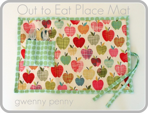 Out To Eat Placemat