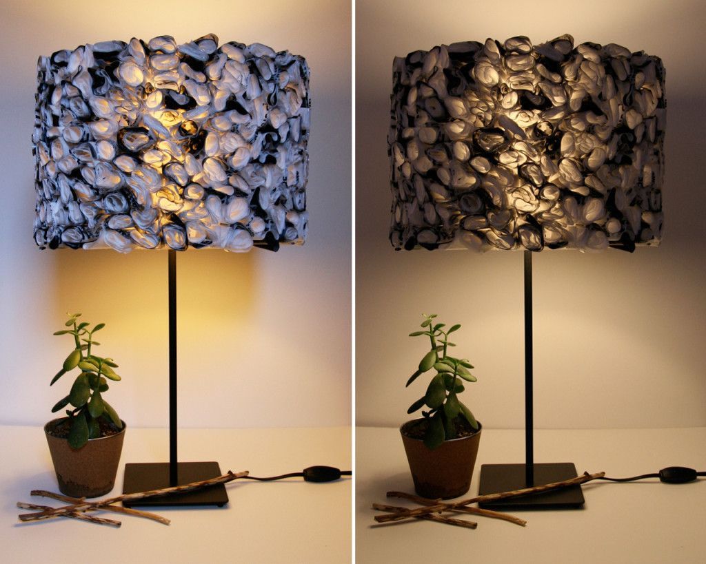 Amazing Plastic Bag Lamp