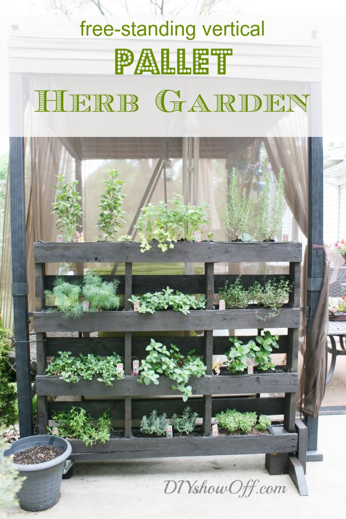7-DIY-pallet-planter-ideas-for-spring-free-standing-vertical-pallet-herb-garden