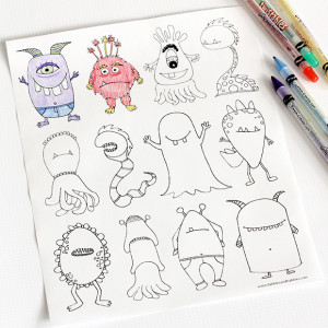 4-7-monster-coloring-links