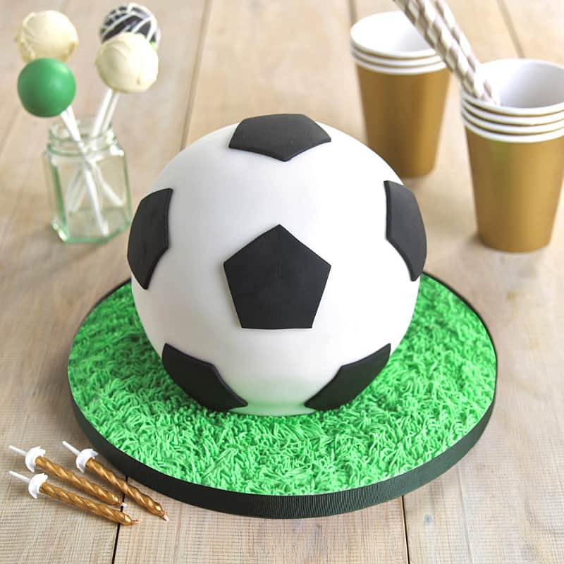 How To Make A Football Cake Without A Football Pan