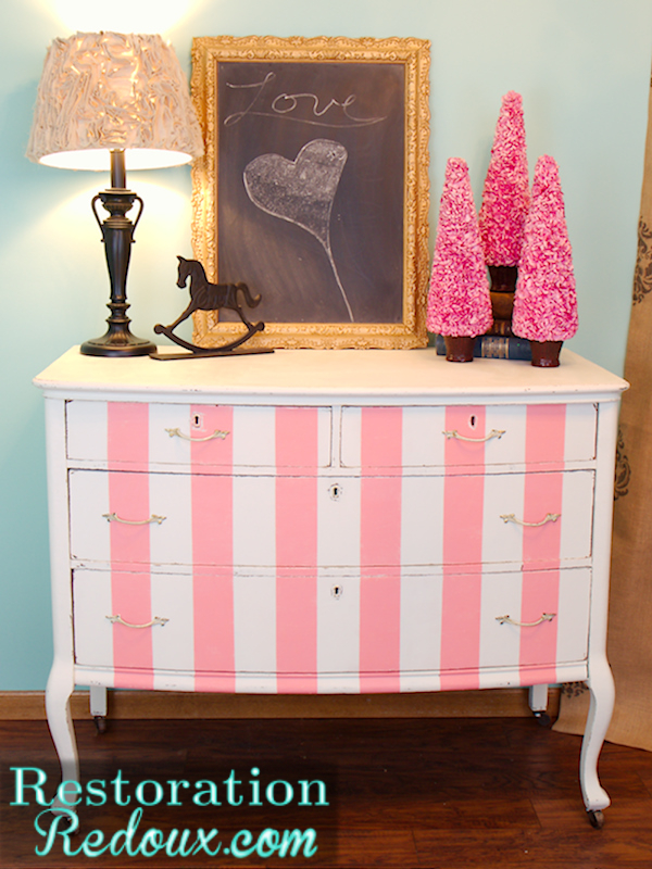 Pink Storage Bins Girls Flower Drawers Chest Dresser: 8 Ways To Upcycle A Chest Of Drawers