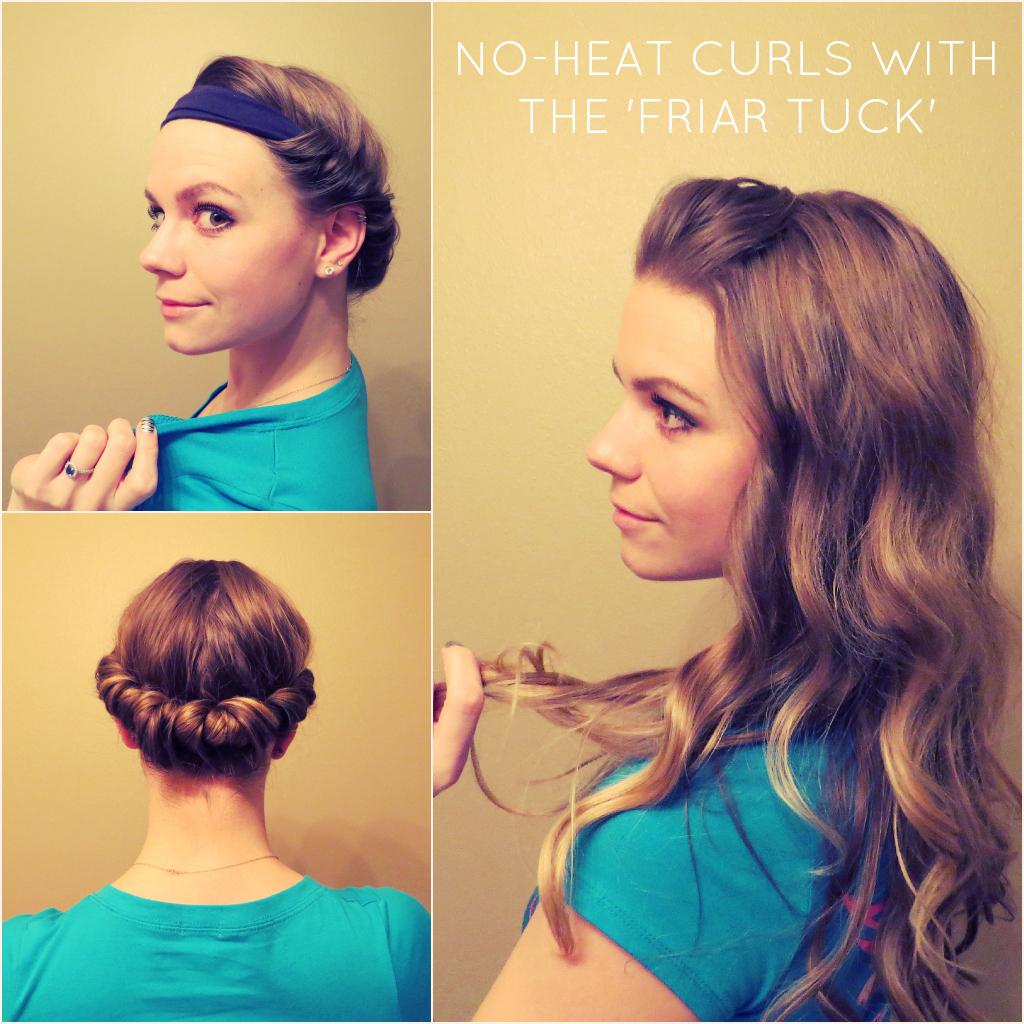 6 Diy No Heat Curls Diy Thought