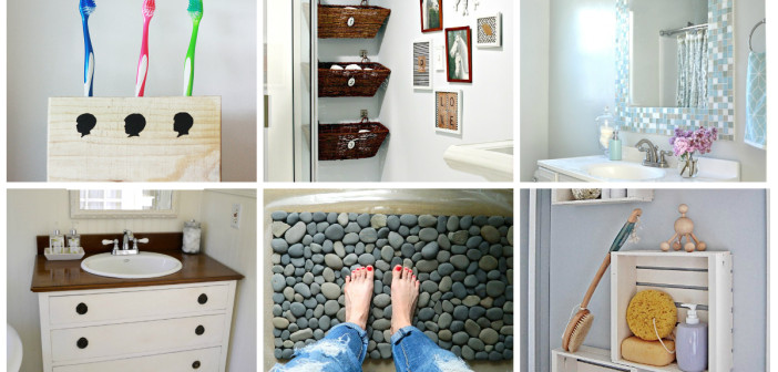 Easy Bathroom Decorating Ideas: 9 Diy Bathroom Ideas