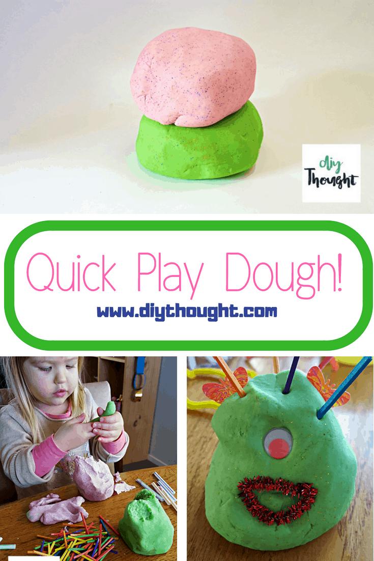 quick play dough