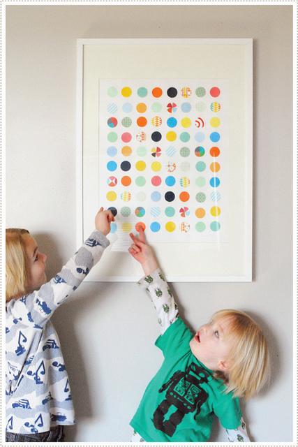 1-11-diy-spotty-dotty-circular-wall-art-projects