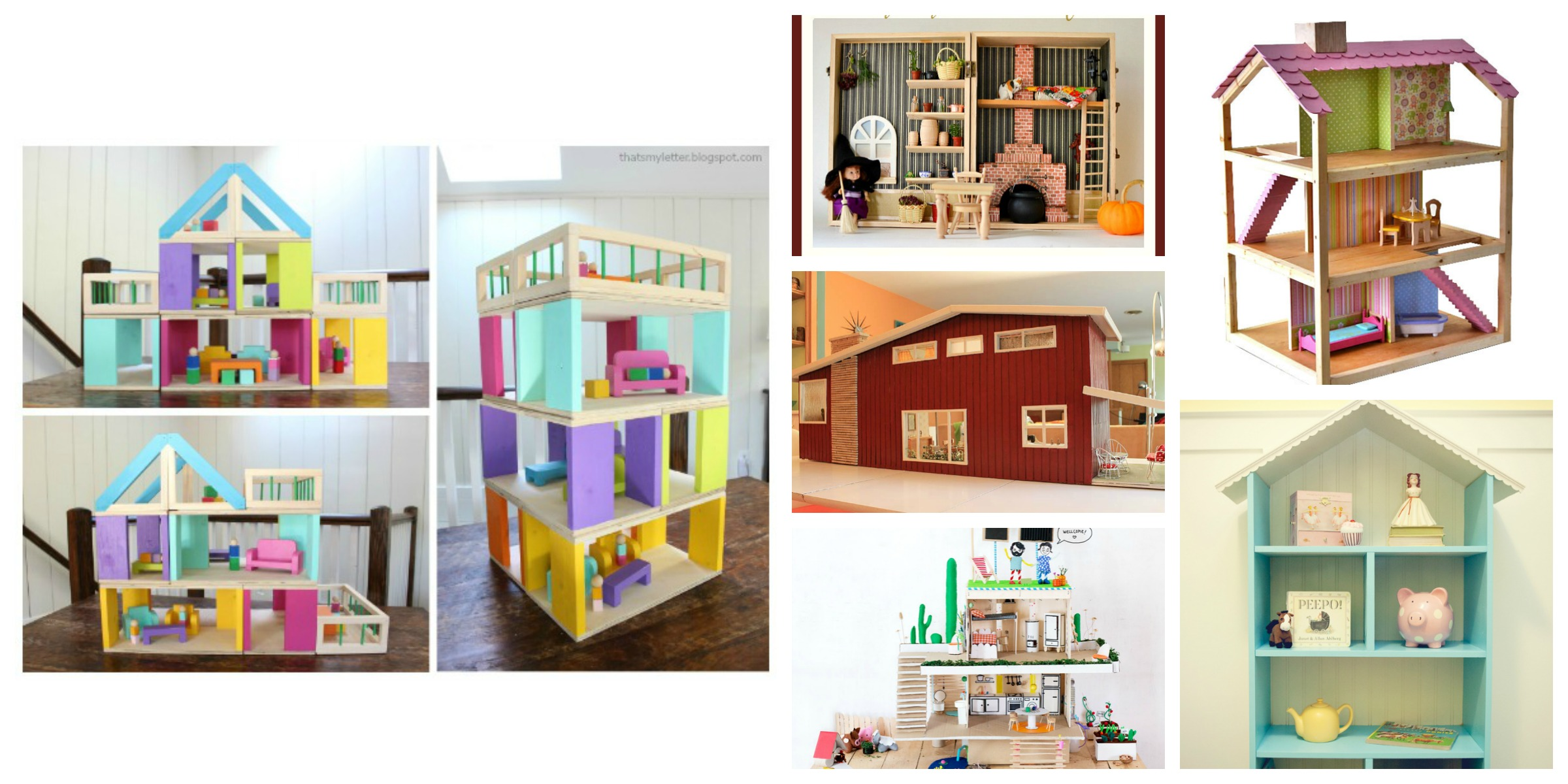 9 Diy Dollhouses