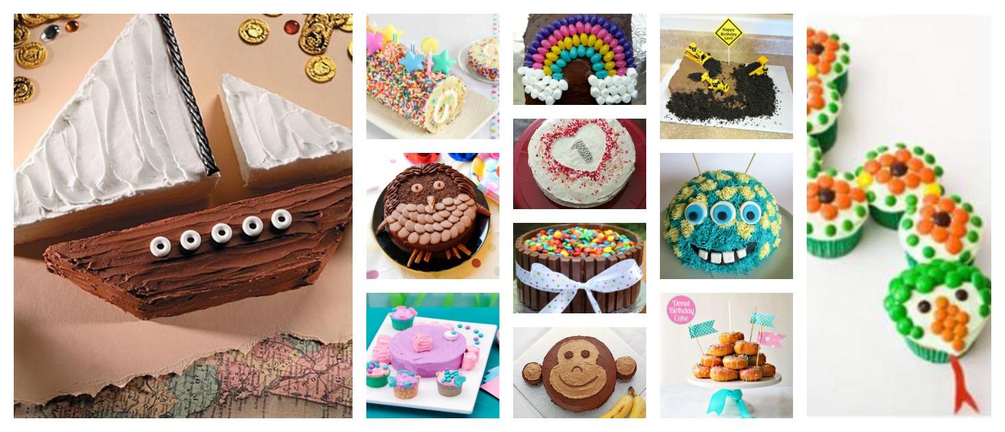 Tremendous 12 Super Simple Kids Birthday Cakes Diy Thought Funny Birthday Cards Online Elaedamsfinfo