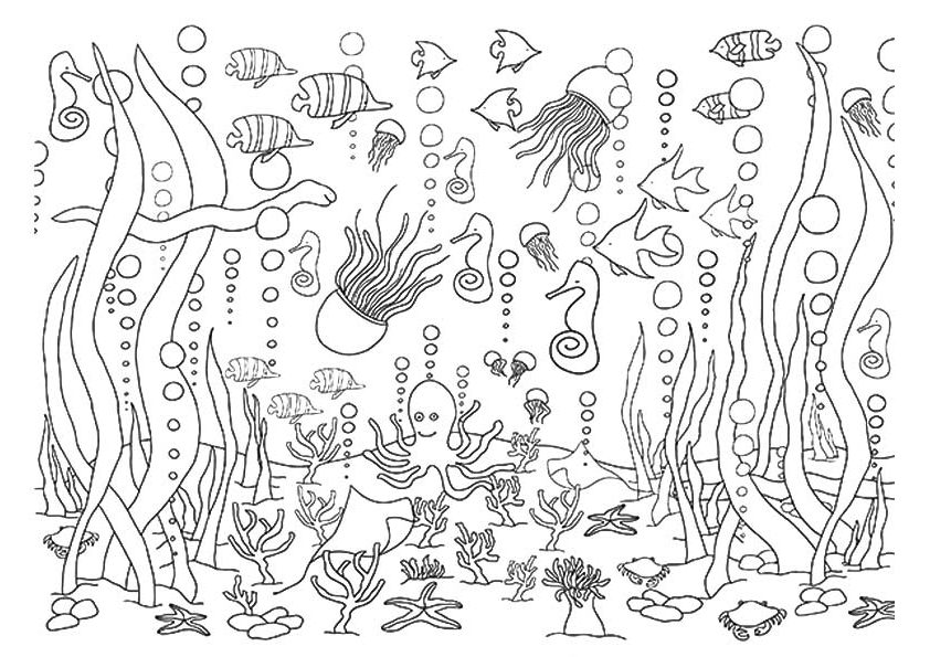 1-5-underwater-coloring-pages