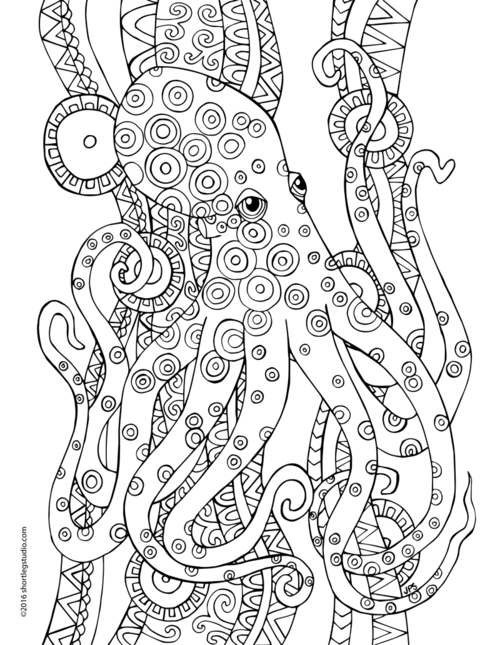 5 Underwater Coloring Pages
