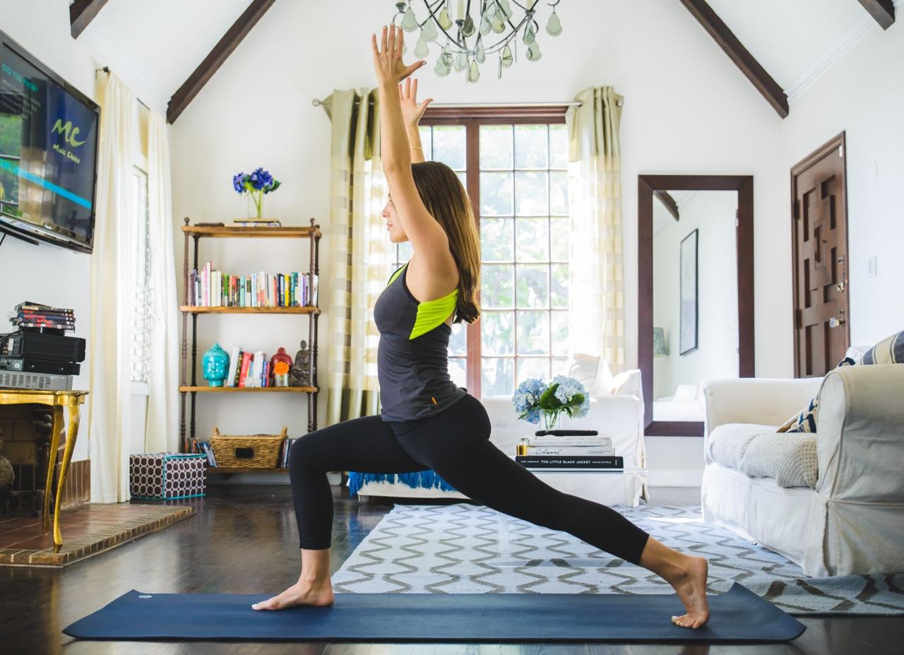 DIY Yoga Mat Spray - Homemade Yoga Mat Cleaner Tutorial