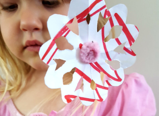 Pipe Cleaner Flower Tutorial