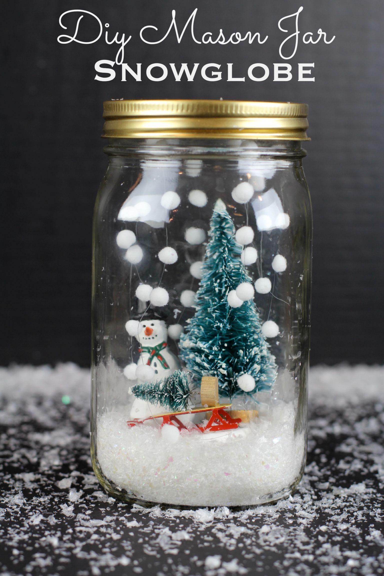 Снег своими руками для поделки