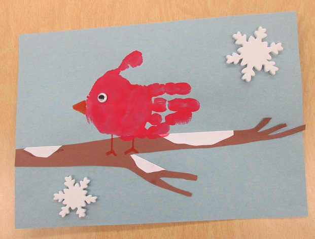 Cardinal Christmas Crafts