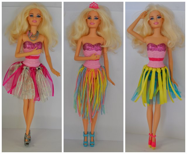 6 Super Easy No-Sew Barbie Clothes - diy Thought