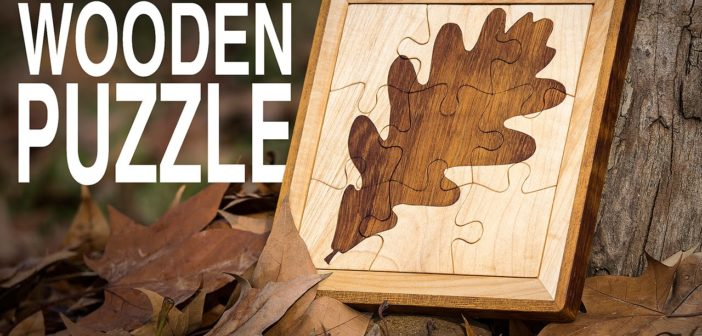 How To Make A Two-Tone Wooden Jigsaw Puzzle