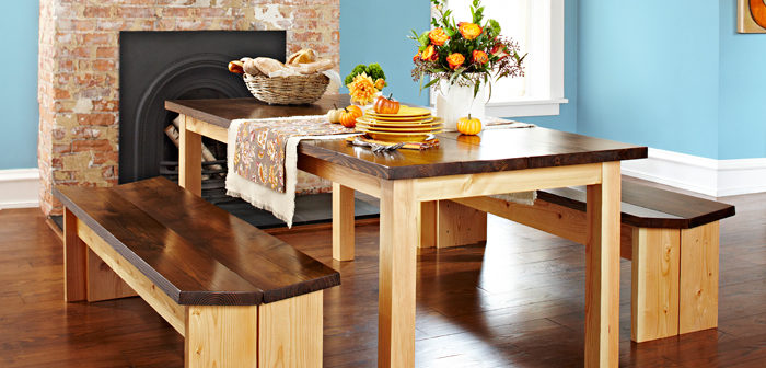 Simple Dining Room Table 5 Simple Dining Room Tables To Build   Diy Thought Part 27