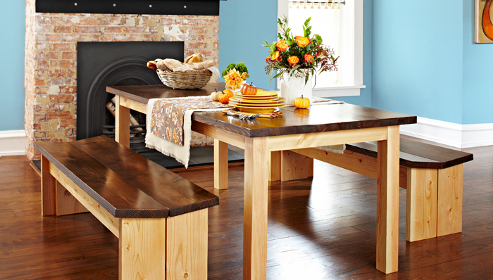 Ordinaire 5 Simple Dining Room Tables To Build
