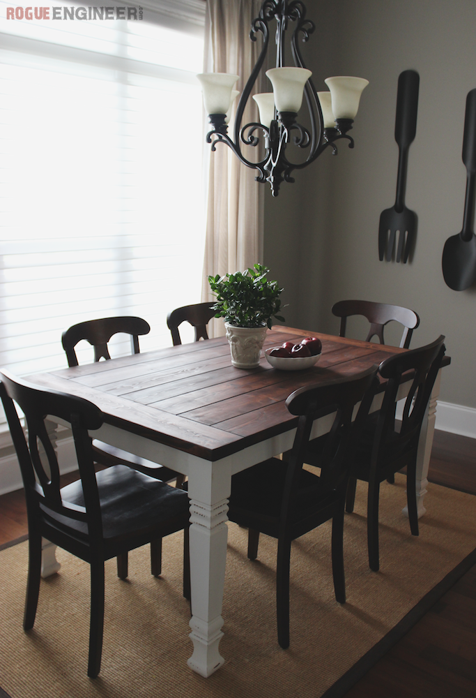 5 Simple Dining Room Tables To Build - diy Thought