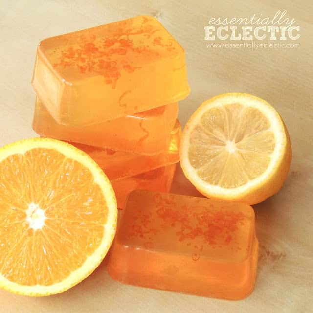 Thai Tea Melt And Pour Bars Tutorial: 5 Homemade Quick And Easy Soaps