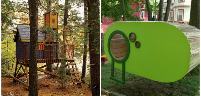 5 Kids Cool Diy Treehouses