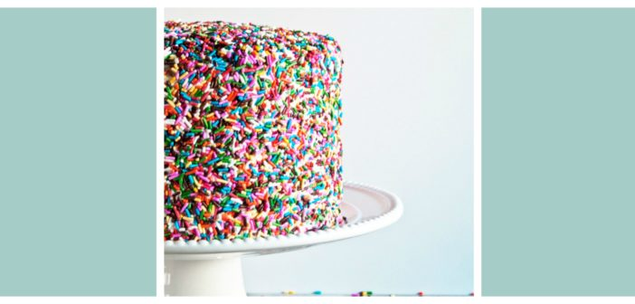 How To Sprinkle A Cake