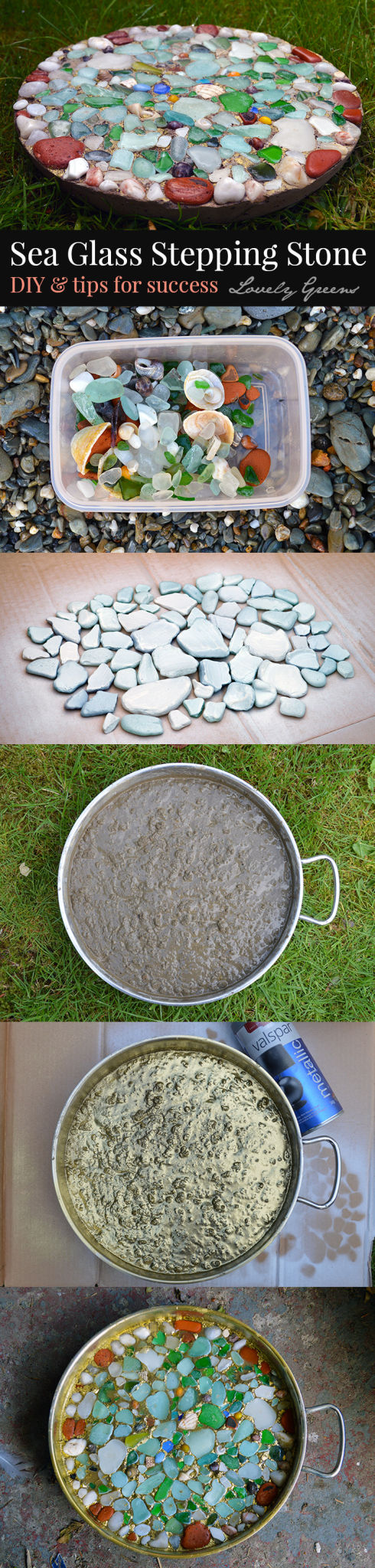 8 Personalized Diy Stepping Stones Diy Thought