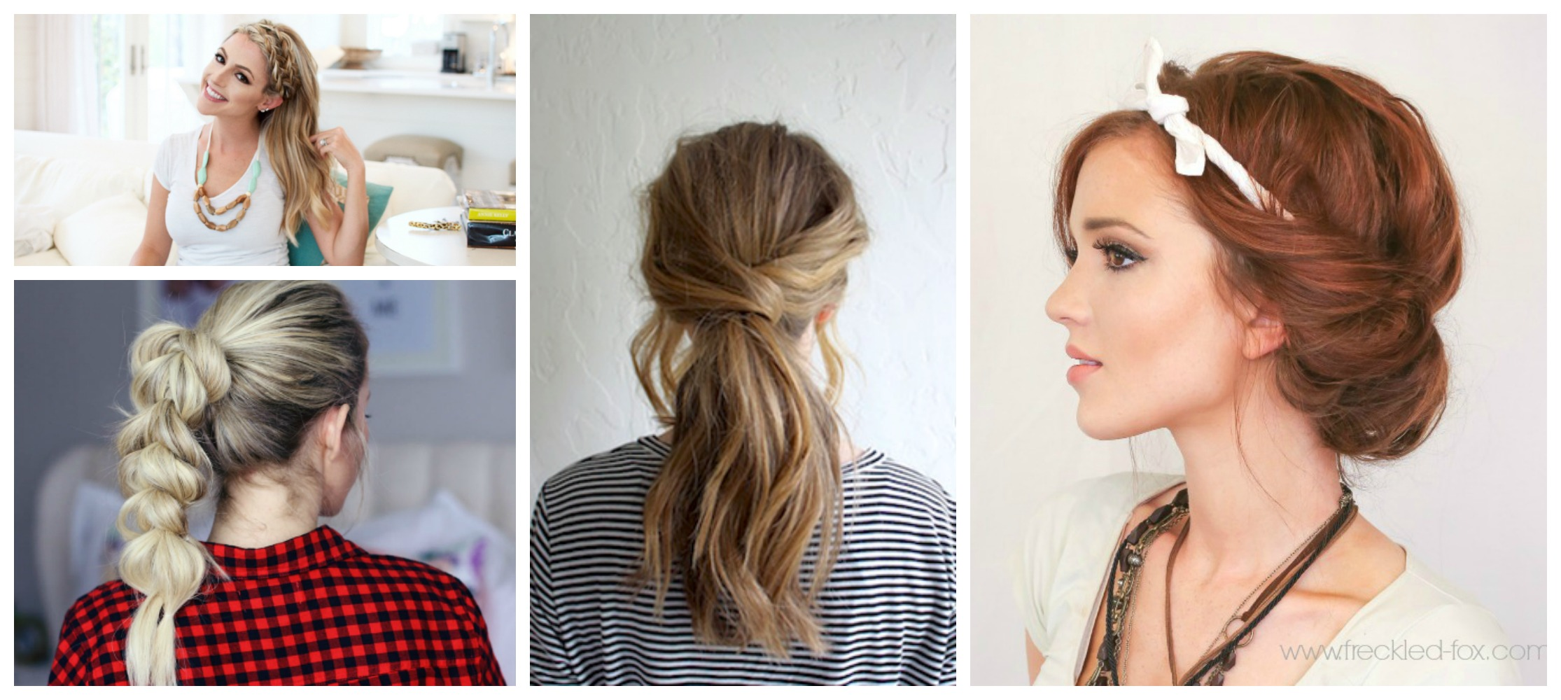 Amazing 8 Quick Easy Hairstyles That Make Dirty Hair Look Fab Diy Thought Natural Hairstyles Runnerswayorg