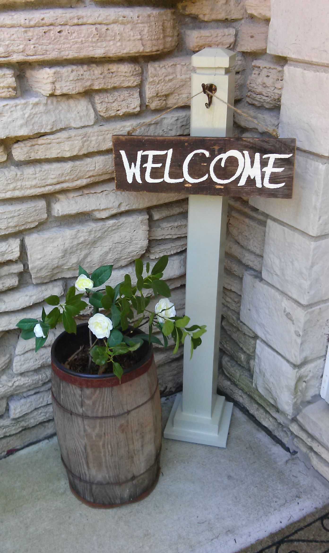 10 Diy Welcome Signs For Your Front Porch - diy Thought