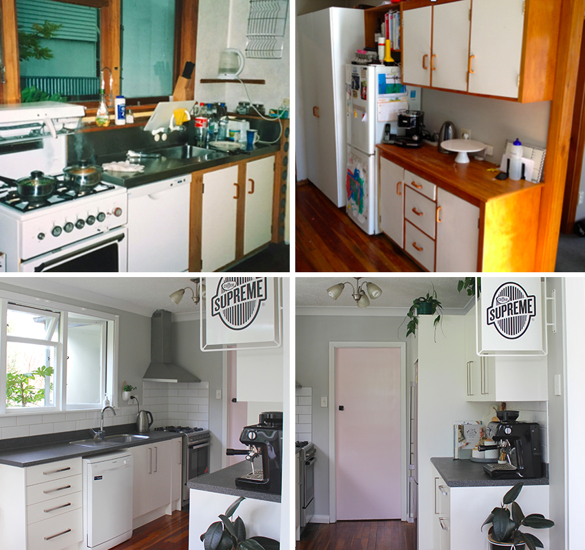 Maintaining The Same Layout As Your Old Kitchen Saves Lots Of Money. The  Kitchen Was Gutted And An Affordable Modular System Installed While The  Bench Top ...
