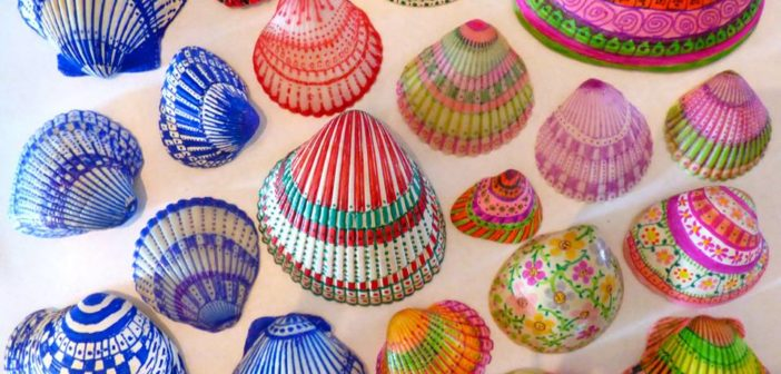 Diy Decorated Shell Inspiration