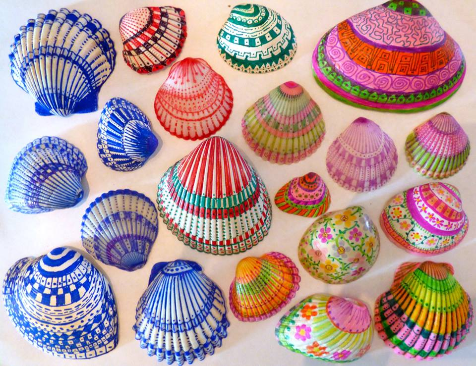 Diy Decorated Shell Inspiration Diy Thought