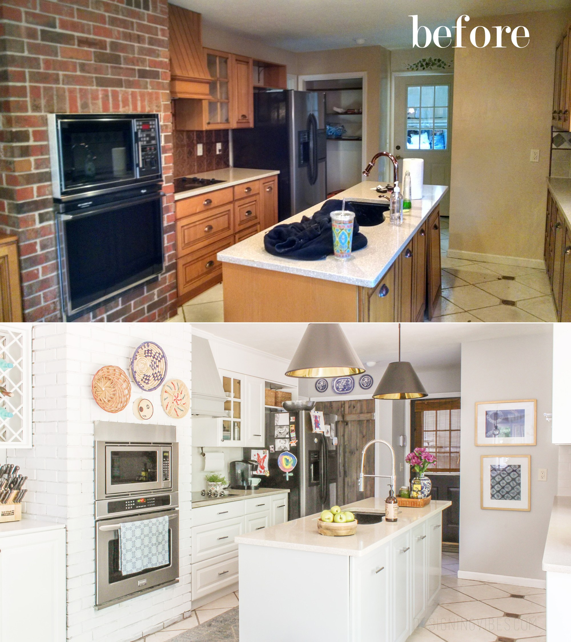 5 diy budget kitchen renovations diy thought for Kitchen remodels on a budget photos