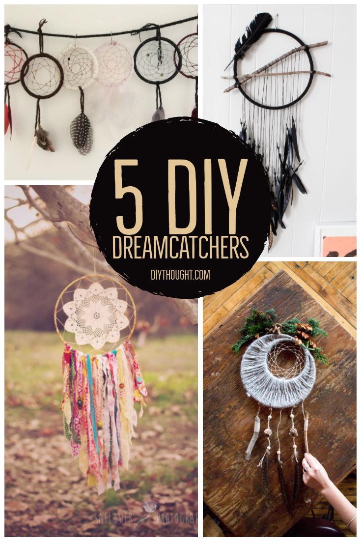 5 DIY Dreamcatchers