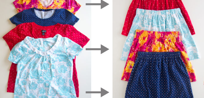 Turn Adult Shirts Into Kids Clothes 5 Ways