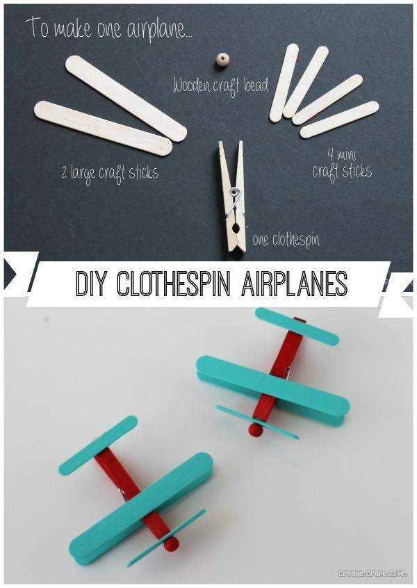 7 Fun Kids Clothespin Crafts Diy Thought