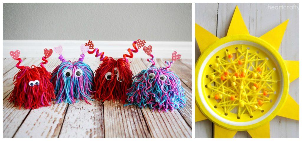 8 Fun Rainy Day Kids Crafts Diy Thought