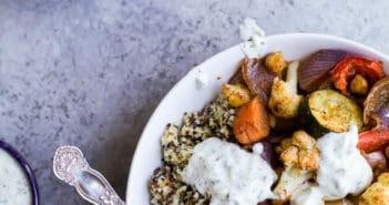 7 Simple Vegetarian Grain Bowls
