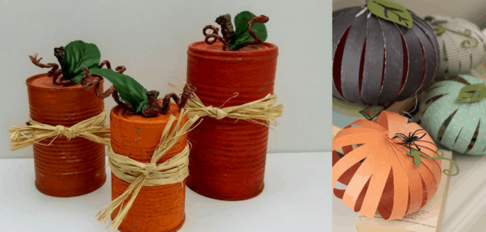 7 Diy Pumpkin Inspired Crafts