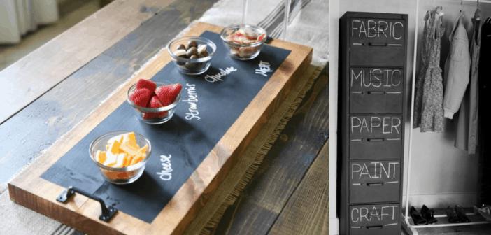 9 Fun Chalkboard Paint Projects