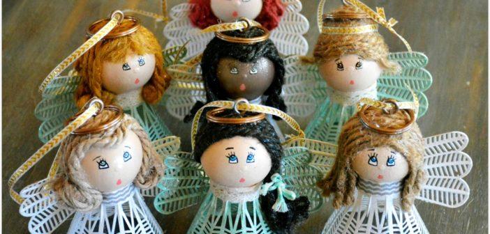 6 Diy Christmas Angel Ornaments & Decorations