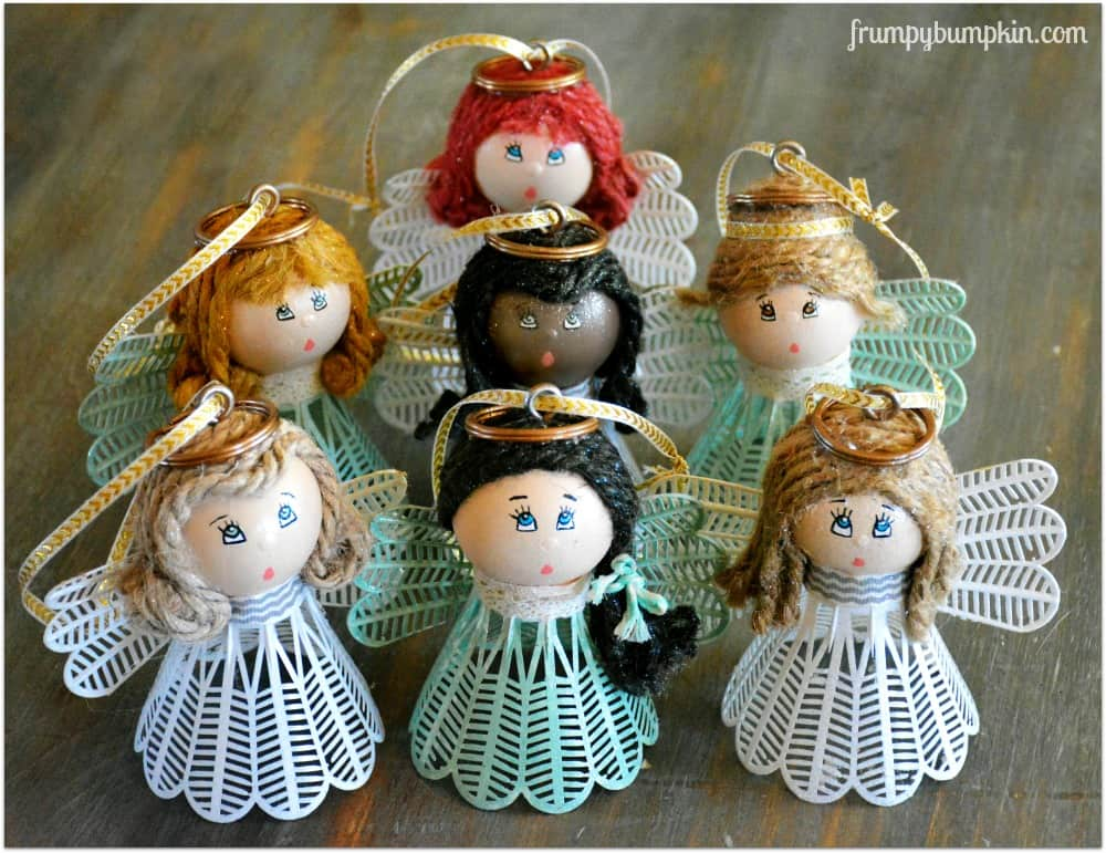 6 diy christmas angel ornaments decorations