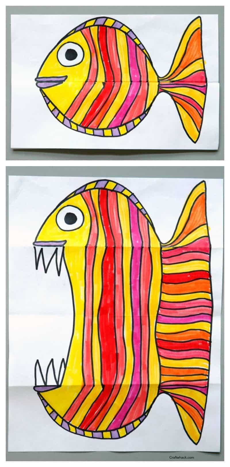 1 Surprise Ferocious Beings Drawing