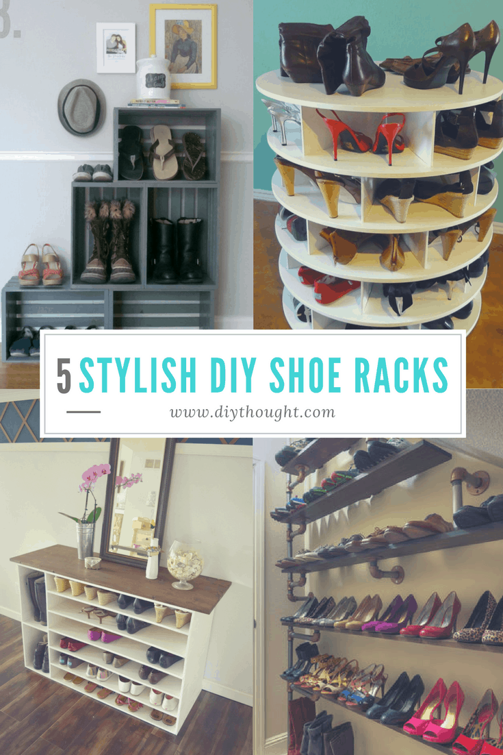 A shoe rack for the true shoe