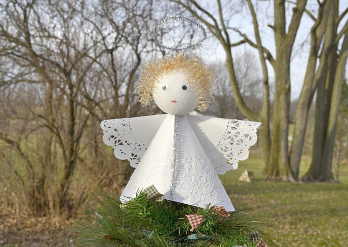6 Diy Christmas Angel Ornaments & Decorations