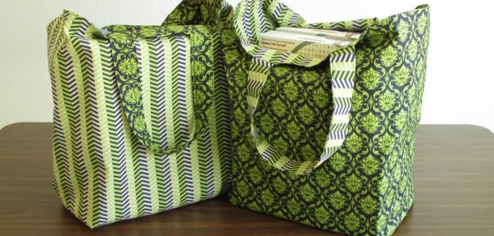 Sew Your Own Eco-Friendly Shopping Bag