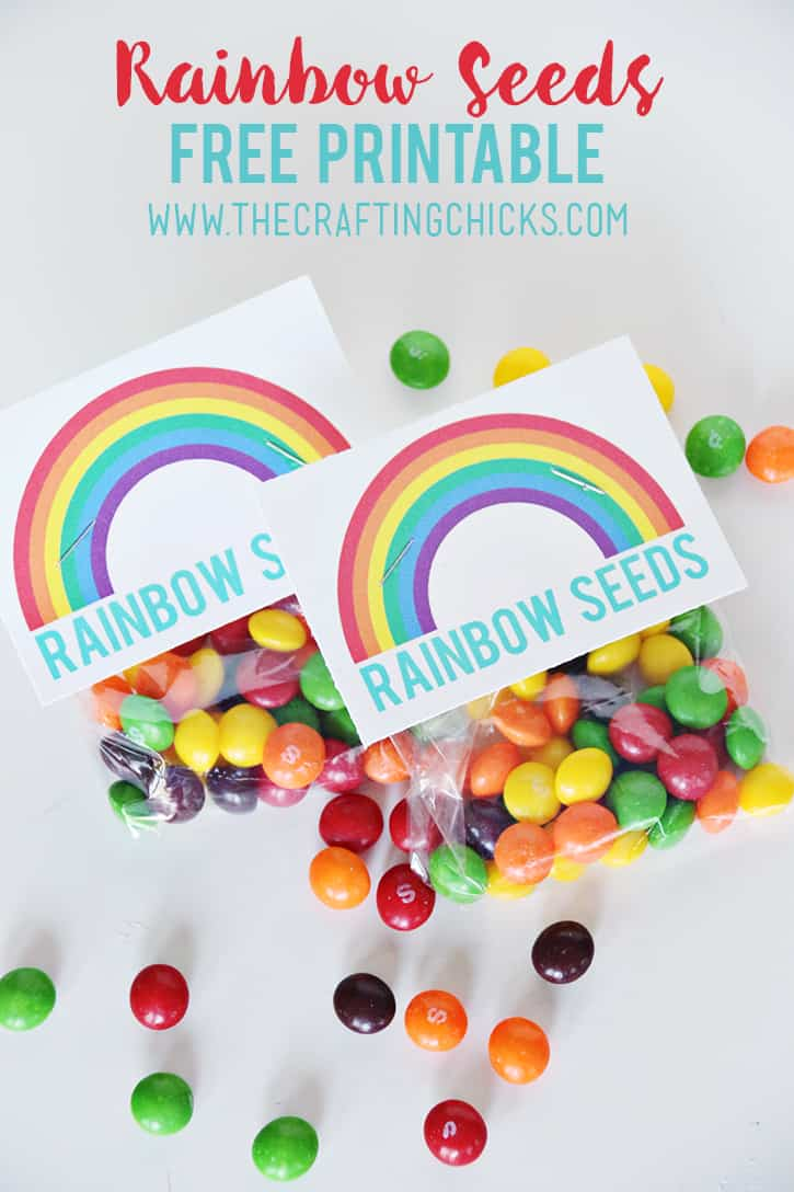 Party Favors Rainbow Seeds