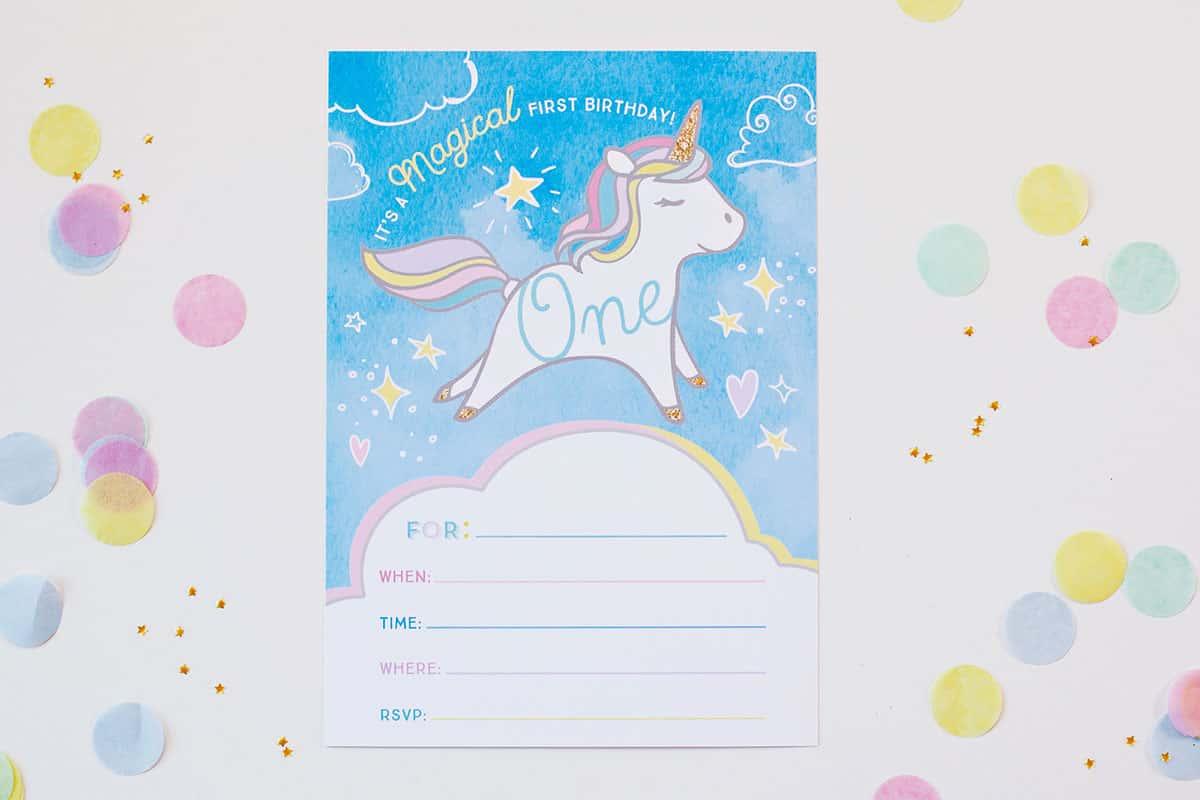 Diy Unicorn Rainbow Party - diy Thought