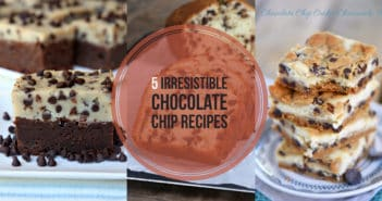 5 Irresistible Chocolate Chip Recipes